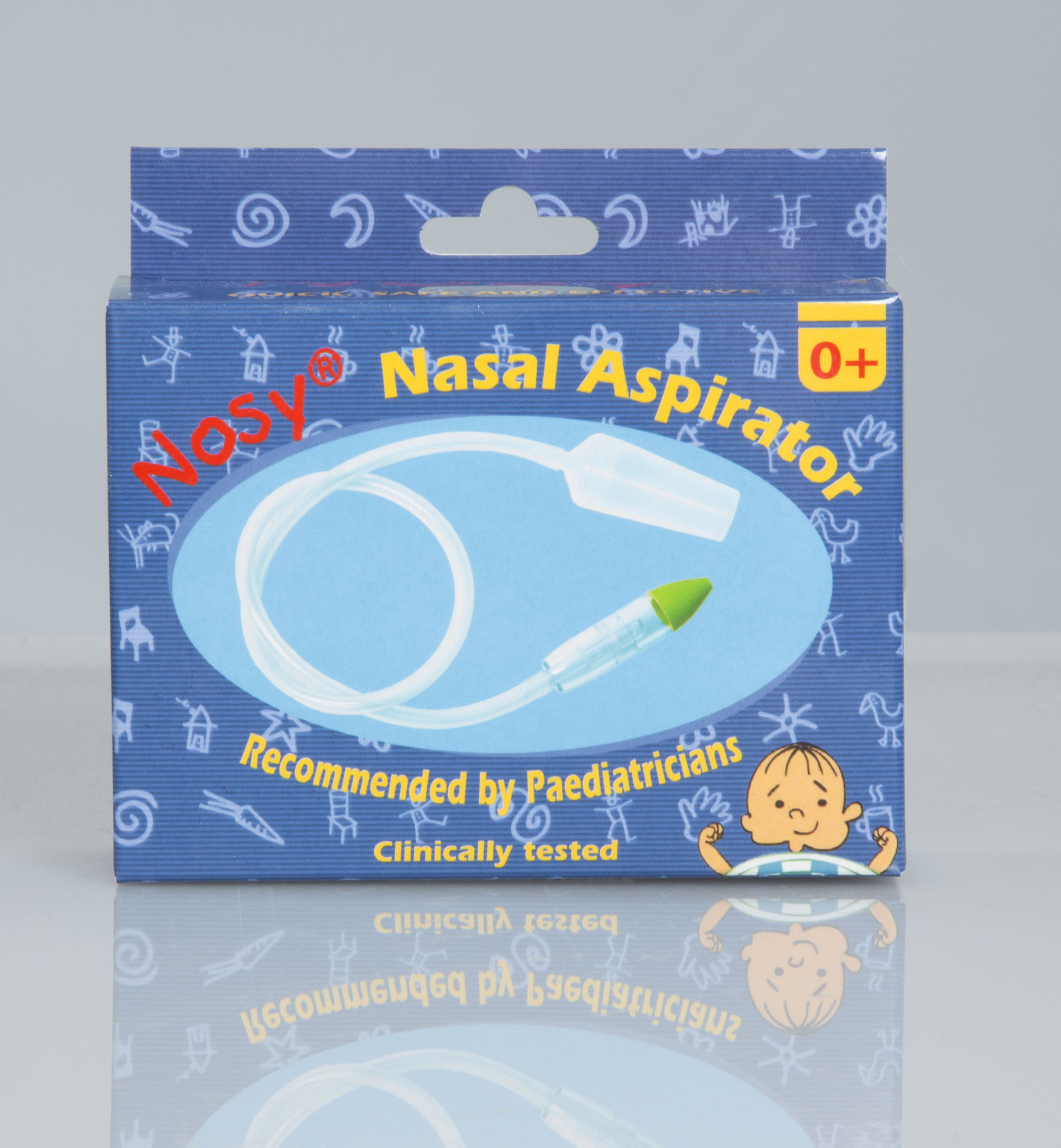 how to clear a kids nose without aspirator